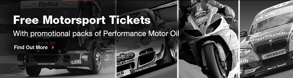 Free motorsport ticket worth up to &pound;42